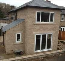 Single and two storey extensions, Cromford
